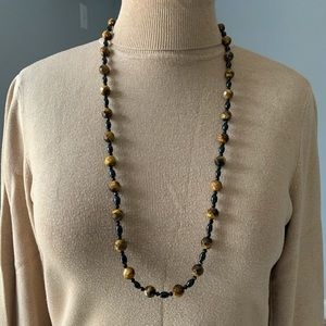 ❤️Jay King tigers eye and onyx necklace ❤️